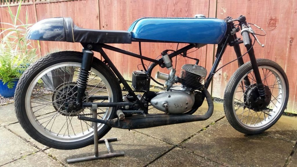 BSA Bantam 125cc Racing Bike