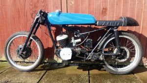 BSA Bantam Racing Bike