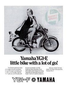 1974-1975 Yamaha YG1-F