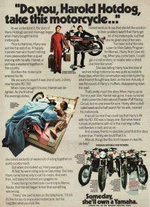 1973 Yamaha RD350 Advertisement (Page 2)