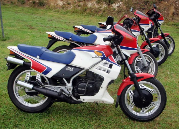 Honda MVX250F. The Forgotten 2-Stroke Triple
